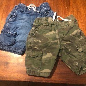 Boys 3T Cargo Shorts Old Navy